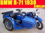 Motorcycle 1938 BMW R71